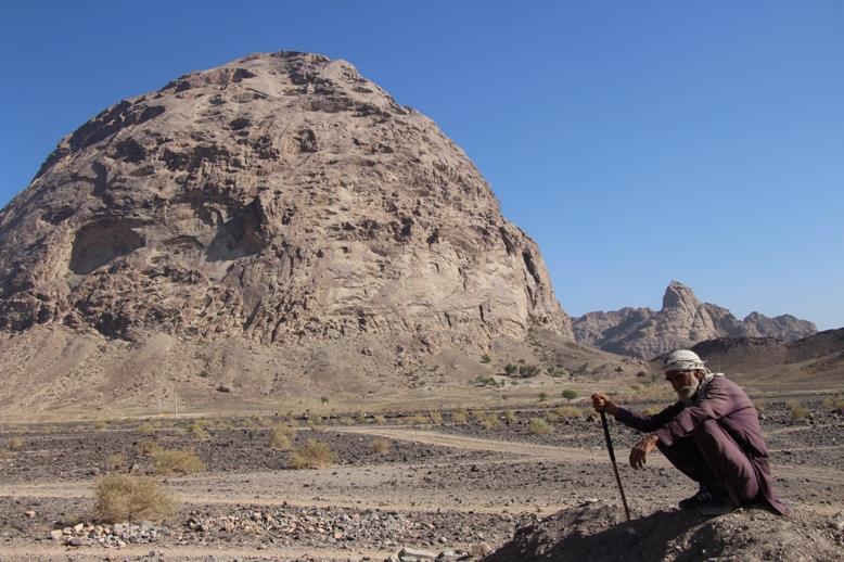 کوه میل فرهاد شهر زهکلوت گردشگری پنج شهرستان جنوبی کرمان