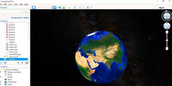 Photo of ضبط فیلم در Google Earth pro ویرایش و ذخیره آن در کامپیوتر