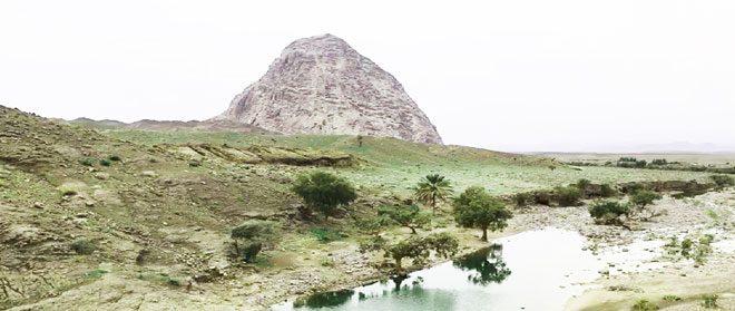 جاذبه گردشگری رودبارجنوب شهر زهکلوت میل فرهاد کوهی پرهیبت