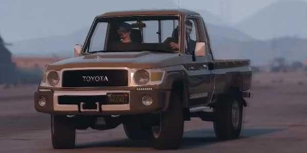 Photo of دانلود مود تویتا لندکروز Toyota Land Cruiser LX V6 برای بازی gta v