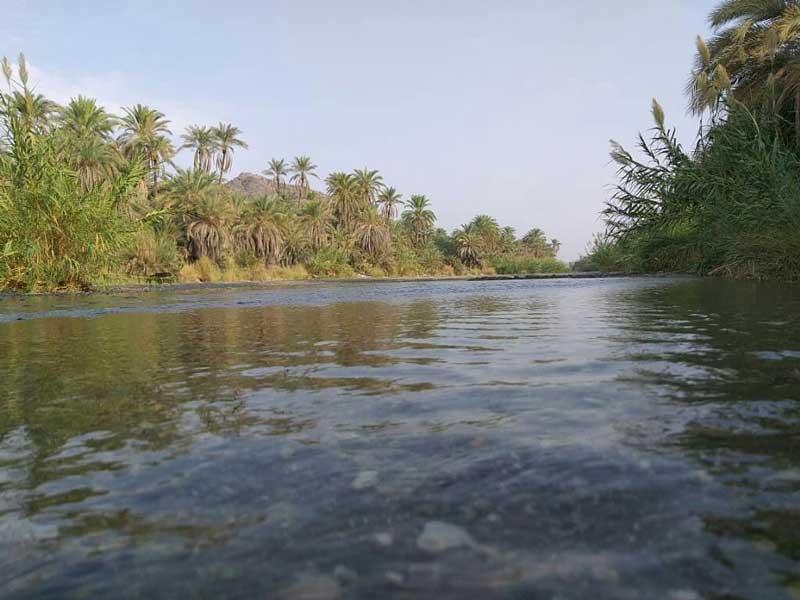 رودخانه های زیبای جنوب کرمان