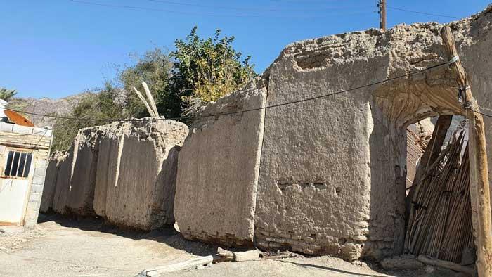 سازه های باستانی در جنوب کرمان